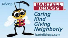 "Bartell Drugs ""B"" Caring Program Logo"