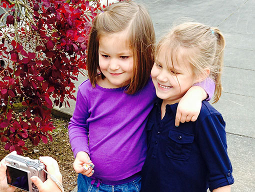 Preschool Students Take Each Others Picture