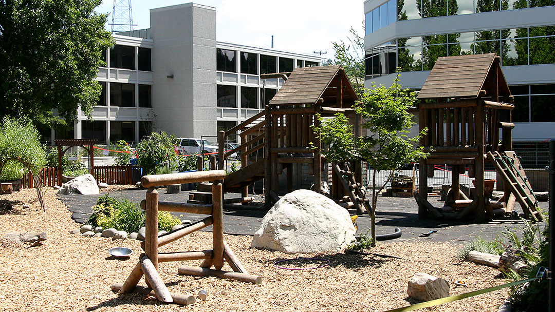 A picture of our Play Yard