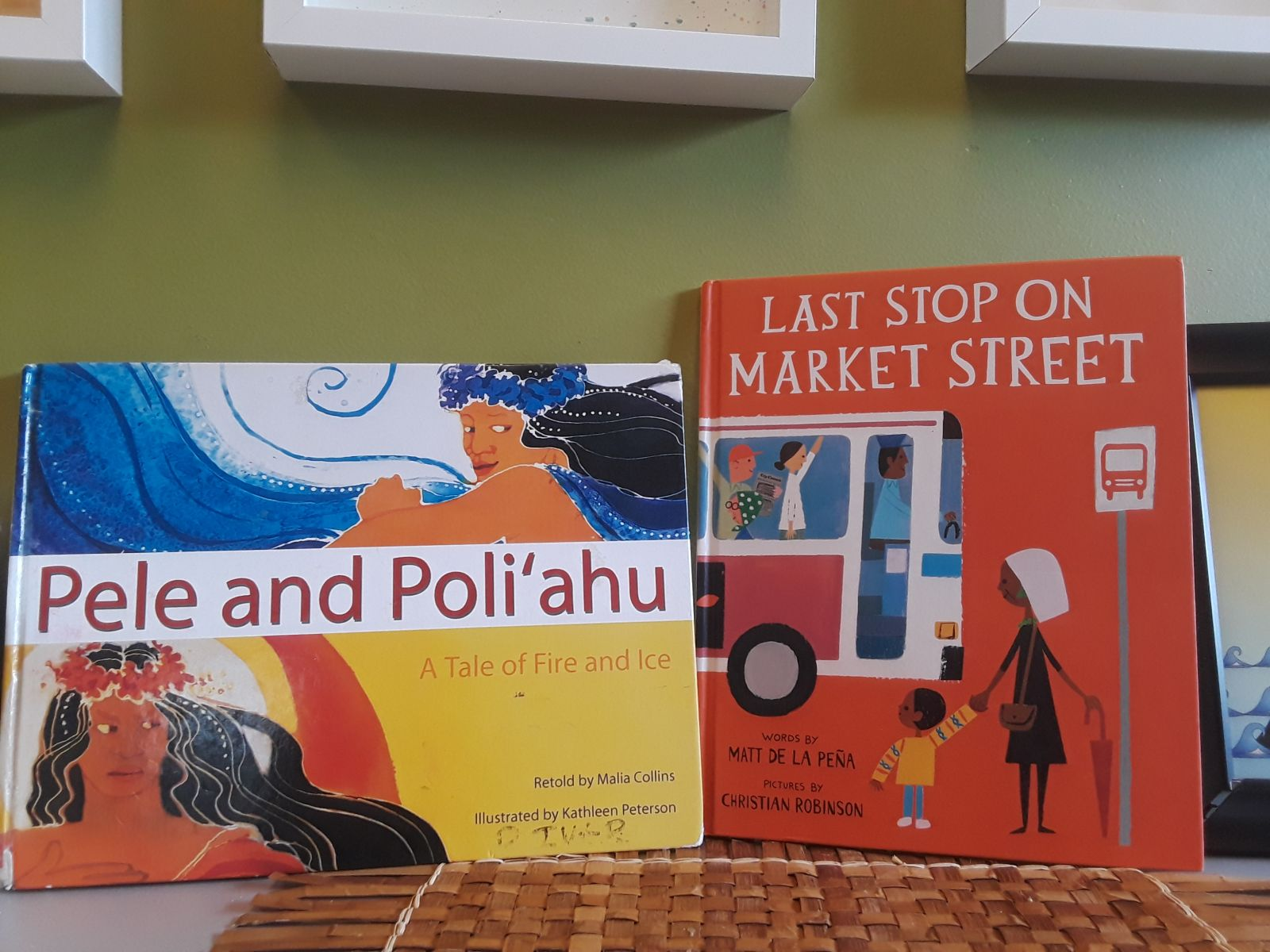 A picture of a book called Last Stop On Market Street