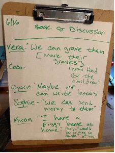list of activities children thought of